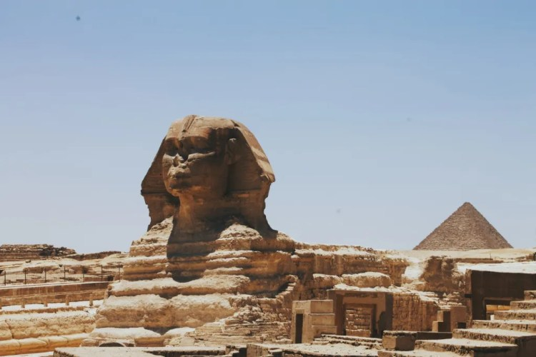 Don't miss the Great Sphinx of Giza when you visit Egypt