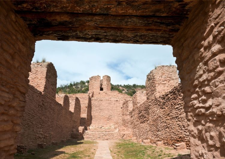 The Jemez historic site is a sign of New Mexico's amazing history