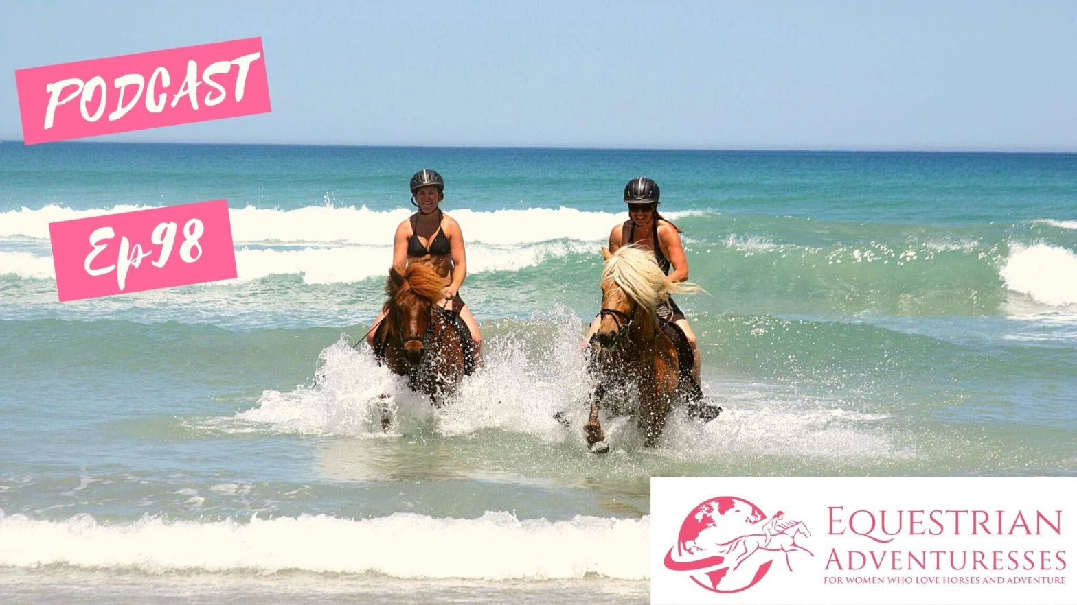 Equestrian Adventuresses Travel and Horse Podcast Ep 98 - From the Far North to Down Under
