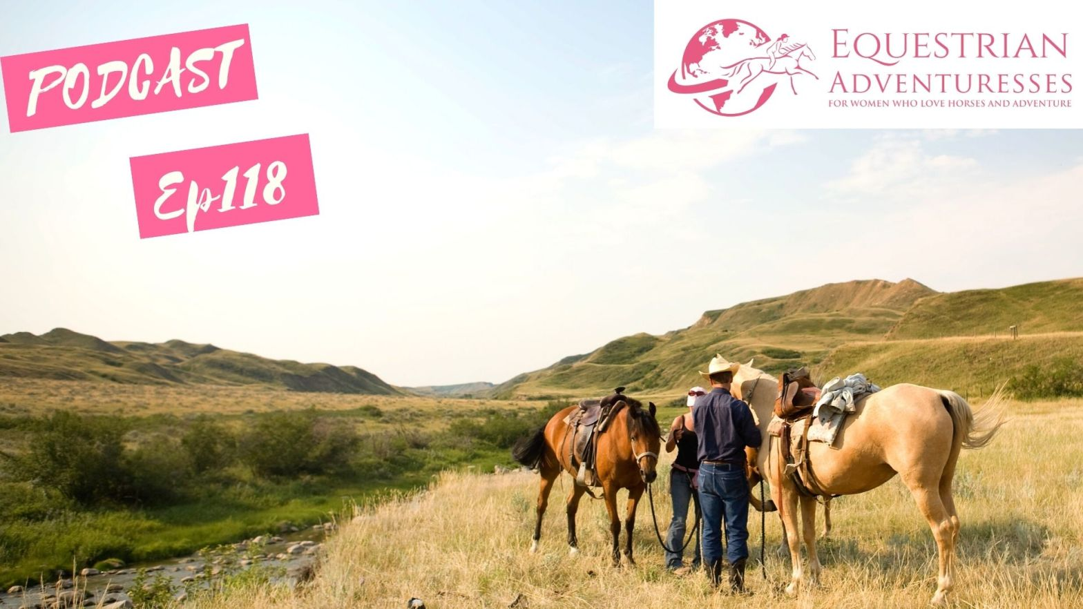 Equestrian Adventuresses Travel and Horse Podcast Ep 118 - How far can a horse travel in one day