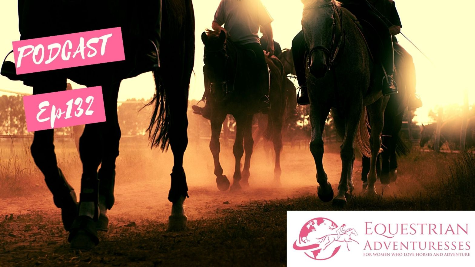 Equestrian Adventuresses Travel and Horse Podcast Ep 130 - Protecting the Legs of Your Horse on Trail