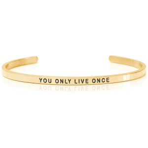 YOU ONLY LIVE ONCE – Armband (Daniel Sword)