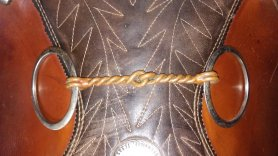 copper twisted wire snaffle