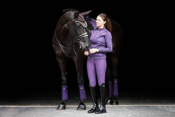 PS of sweden grape purple saddle pad