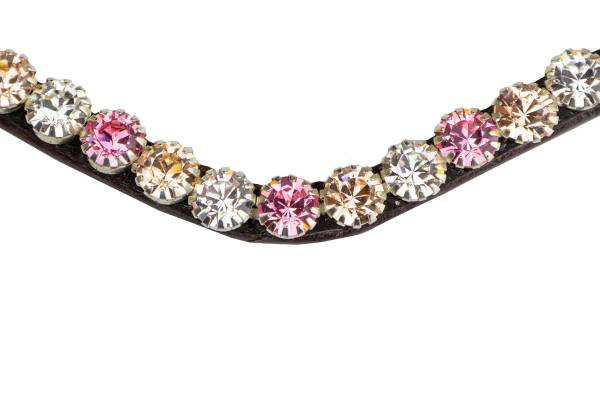 Pink Blossom bling browband