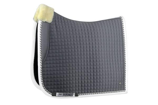 Grey pro saddle pad dressage