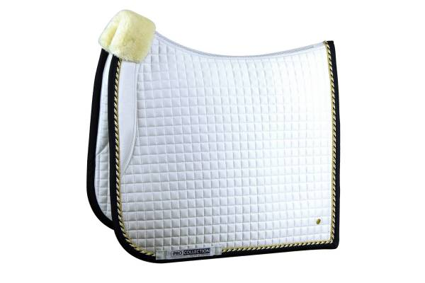 PRo ps of sweden white dressage saddle pad