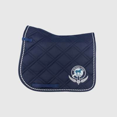 Vitruvian Horse North Dressage Saddle Quilt pad
