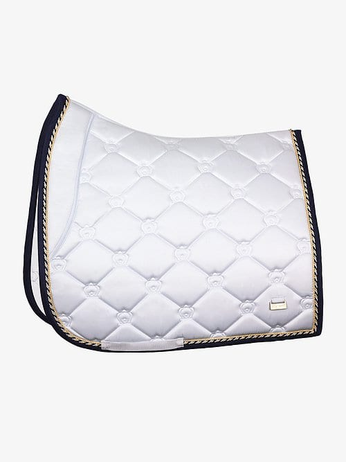 PS of Sweden White dressage saddle pad