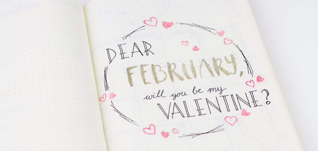 Plan with me: February Bullet Journal