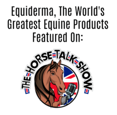 Equiderma featured on the horse talk show