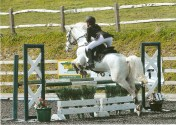 Team Equihunter Libby Newman at Pyecombe-April 2012