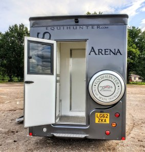 2017 Equihunter Arena for Sale-Finished in Metallic Jaguar Ammonite Grey