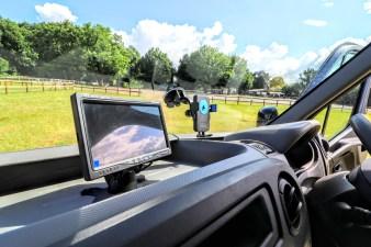 Equihunter Aurora Dashboard Mounted CCTV Screen
