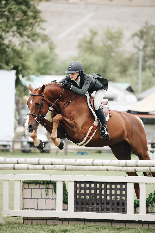 confident rider photo