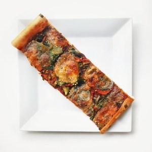 Recette : pizza aux légumes