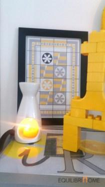 Déco jaune