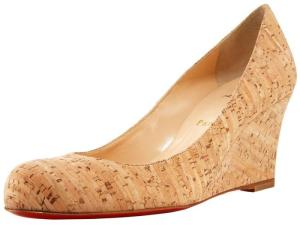 chaussures en liège