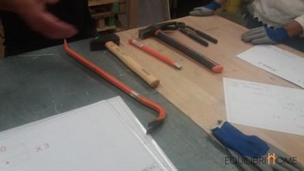 atelier palettes : les outils