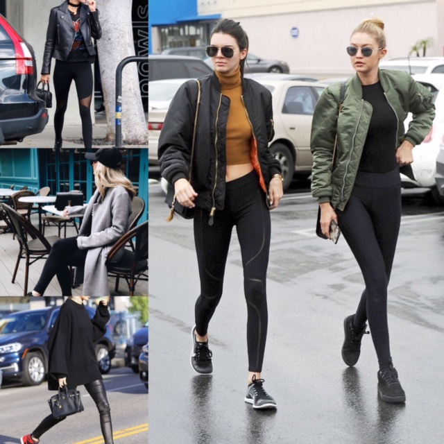 Athleisure with leggings
