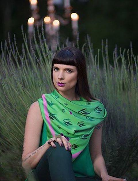 Green Glory Fashion Shot