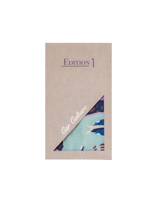 Parked Cotton Scarf Gift Box