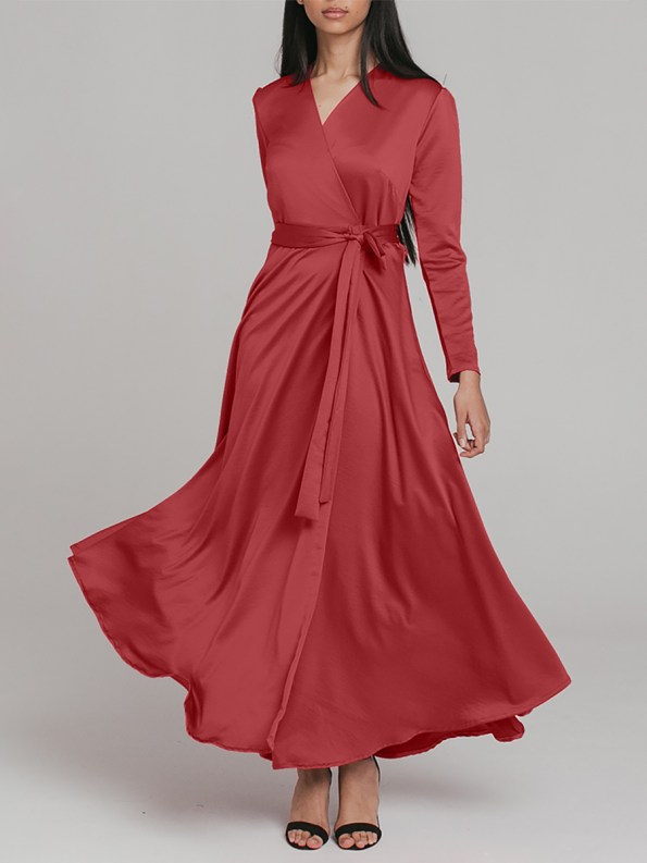 Mareth Colleen Meg Dress Rusty Red 1 _SHPEN150