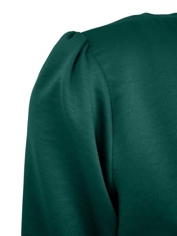 Mareth Colleen Meg Wrap Dress Green Detail