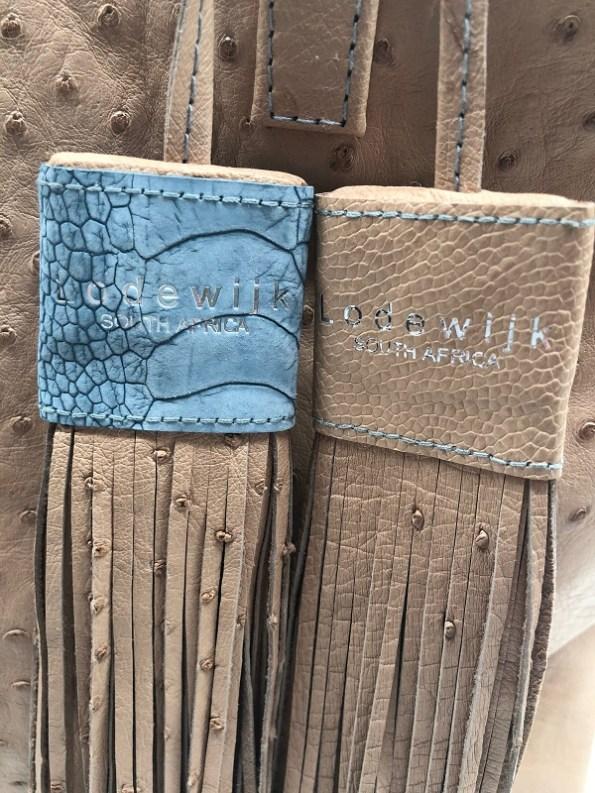 Wheat Tote Detail