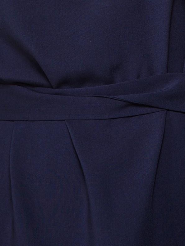 April Dress Navy Closeup