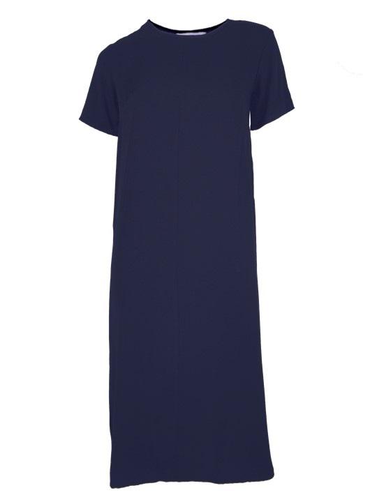 Harper Dress Navy Shopfront