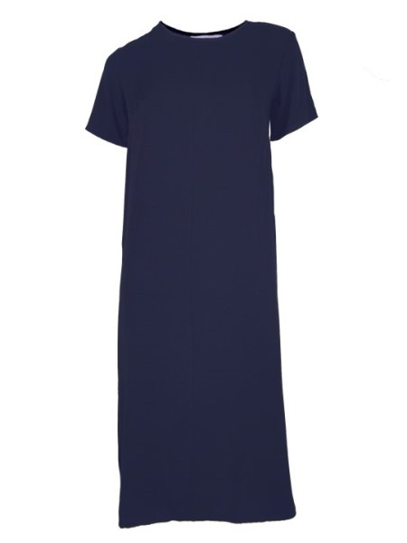 Mareth Colleen Harper dress in navy