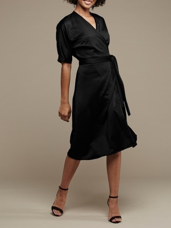 Mareth Colleen Bea Dress Black Front 2
