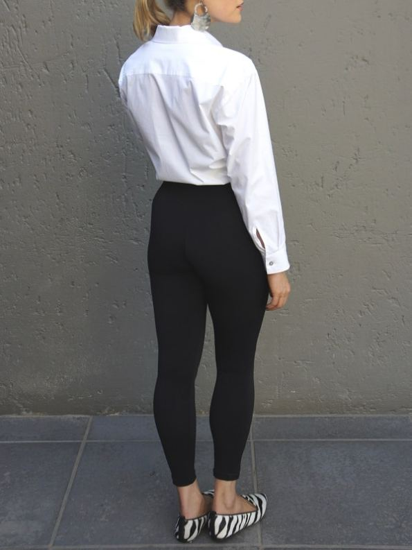 JMVB High-waisted Leggings Black Back