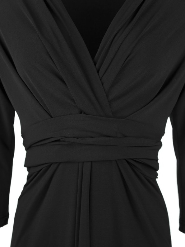 Kate Dress Black Detail