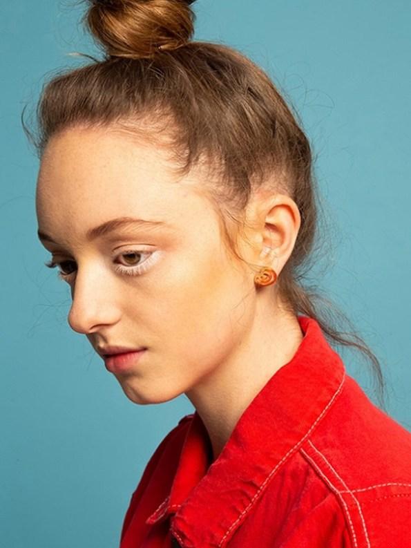 Kirsten Goss Wildcard no.14 Gold on Model
