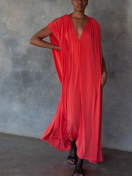 Erre Multi-way Myri Dress Coral 3