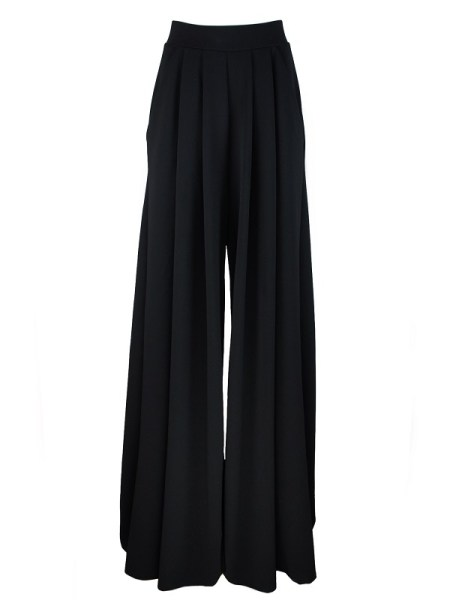 Erre Stroll black Wide Leg Pants Shopfront