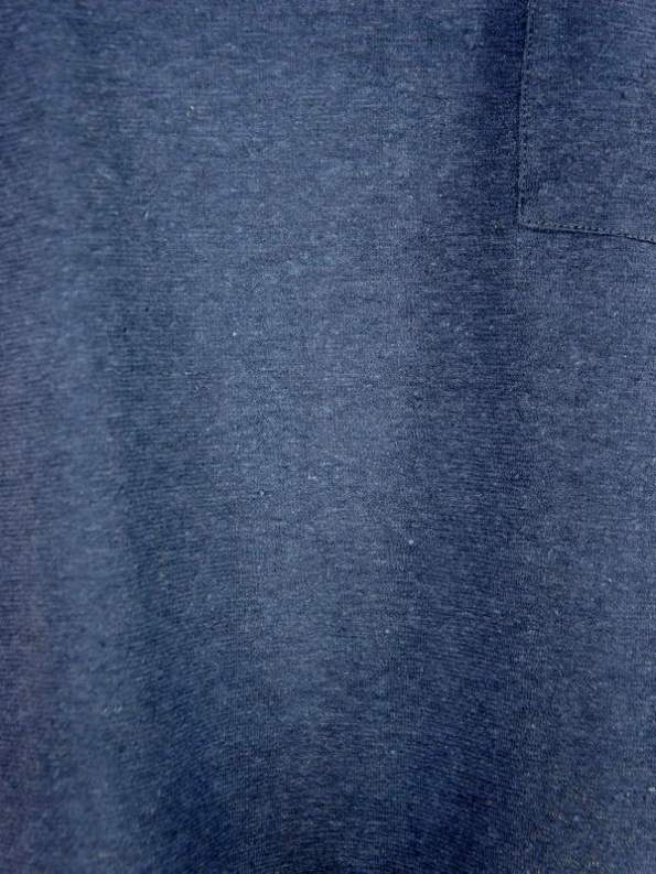 Good Hemp T-Shirt Navy Fabric