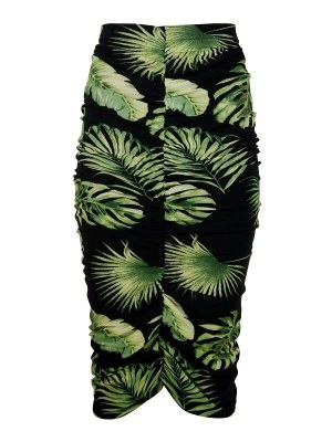 JMVB Lourdes Skirt Black Botanical Shopfront