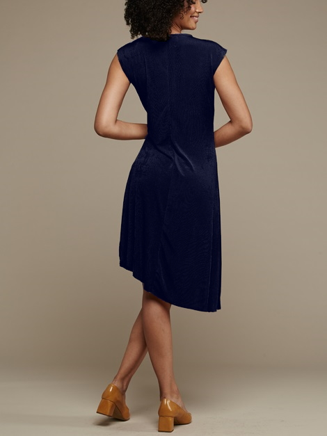 Mareth Colleen Faye Dress Navy Back