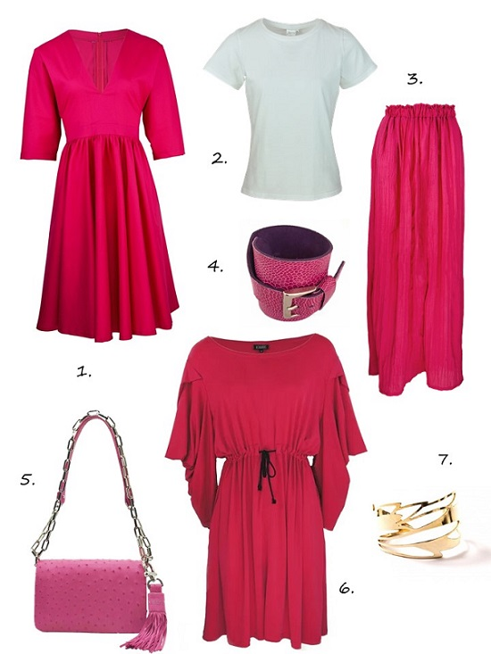 Hot pink colour trend 2019