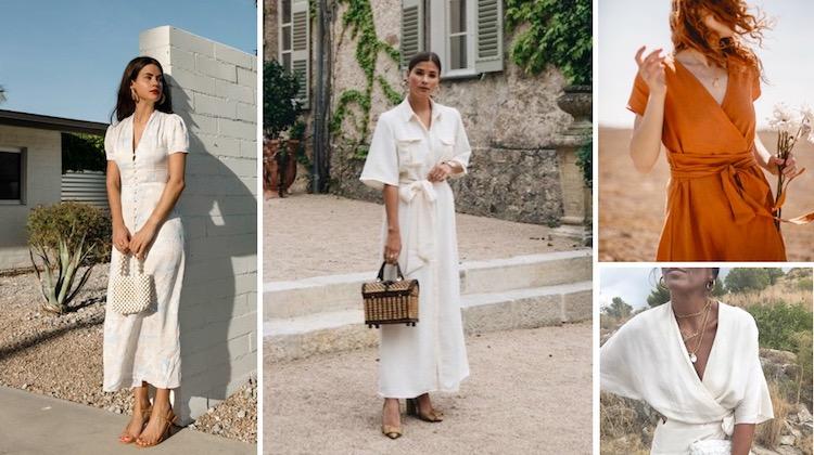 Summer linen dresses