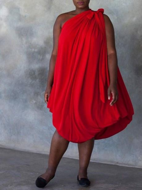 Erre Multiway Myri Dress Red Bubble