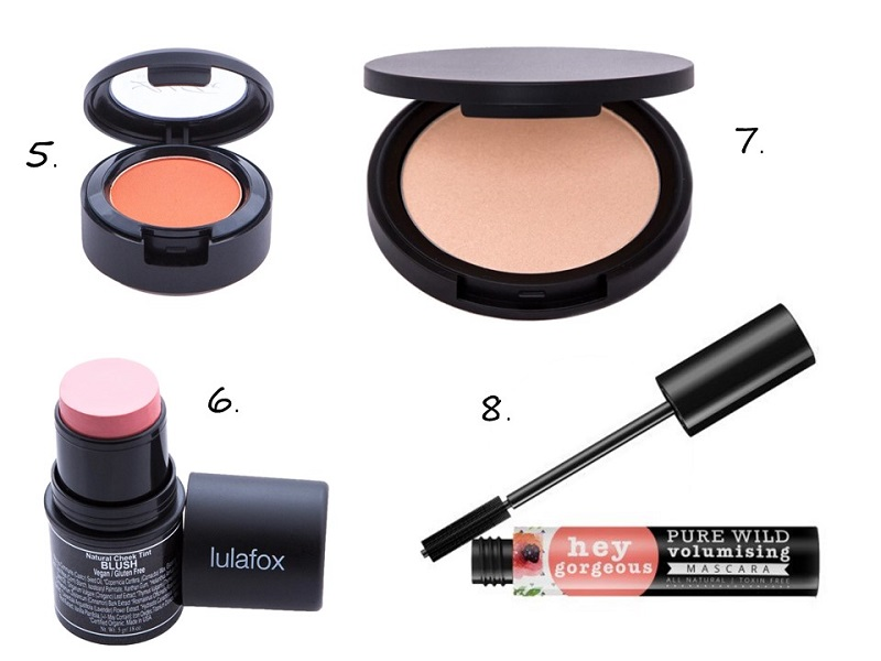 Vacay makeup products to use