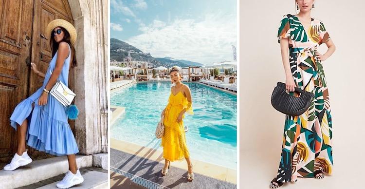 Summer resort wear dresses