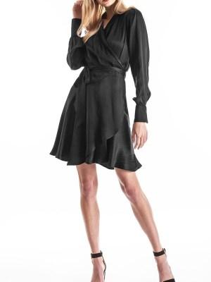 Smudj Sasha Dress Midnight Black Front