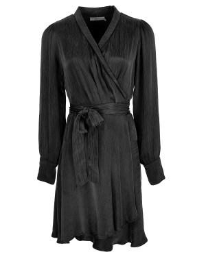 Smudj Sasha Dress Midnight Black Shopfront
