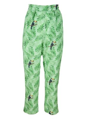 Good Clothing Kandy Pants Green Toucans