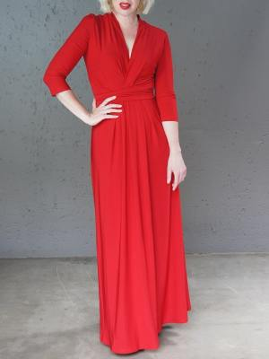 Long red dresses for sale
